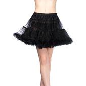 Black Deluxe Petticoat