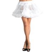 Plus Size White Deluxe Petticoat