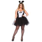 plus size bunny costume