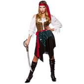 Ladies Caribbean Pirate Costume