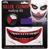 killer clown makeup set