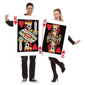 King & Queen Of Hearts Costume