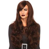 Long Wavy Wig - Brunette