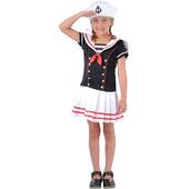 Kids sailor girl costume