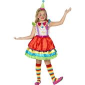 Clown Girl Costume - Tween