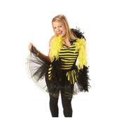 Bumble Bee Feather Boa