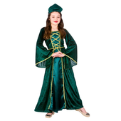 Tween medieval maiden costume