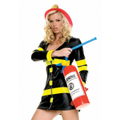 Inflatable fire extingusher