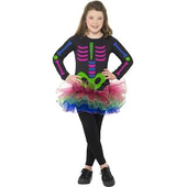 Neon Skeleton Girl - Tween