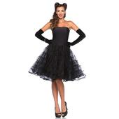 Rockabilly Swing Dress - Black