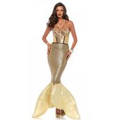 Golden Glimmer Mermaid Costume