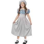 Victorian girl costume