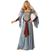 Blue Maid Marion Costume