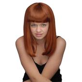 Shoulder Length Wig - Auburn