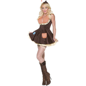 Fever Sultry Scarecrow Costume