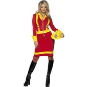 Ladies Fire Fighter Costume
