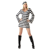 Convict Chick Costume