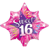 Sweet 16 Shining Star Balloon