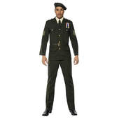 Wartime Officer Mens Costume