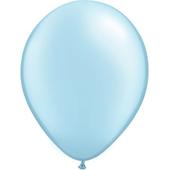 Metallic Light Blue Balloon