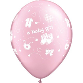 Pink Baby Boy Balloon