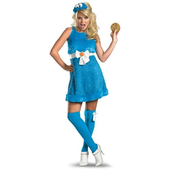Ladies Cookie Monster Costume