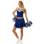 Patriotic Cheerleader costume