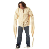 cream straight jacket