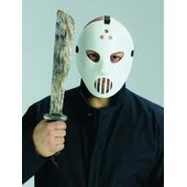Hockey Mask And Machete Set