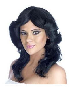Black Farrah Wig