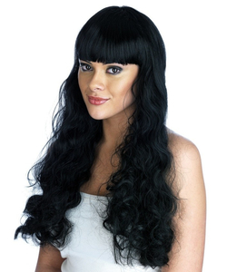 Black Pin Up Girl Wig
