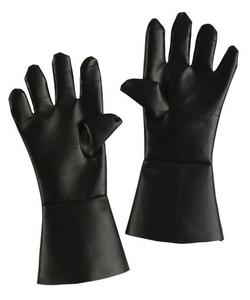 Black butcher gloves