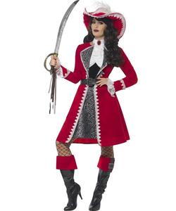 Deluxe Authentic Lady Captain Costume