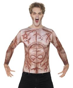 mutilated skin t-shirt