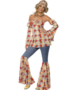 vintage hippy costume