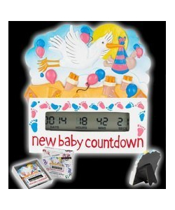 New baby countdown timer