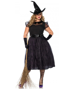 Plus size Darling spellcaster costume