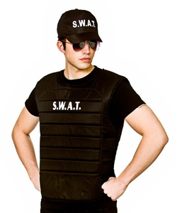SWAT Vest and hat