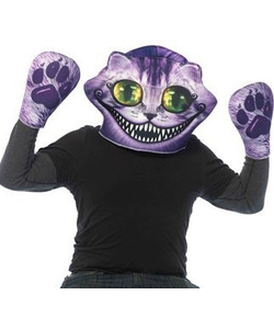 Cheshire Cat Mask & Gloves