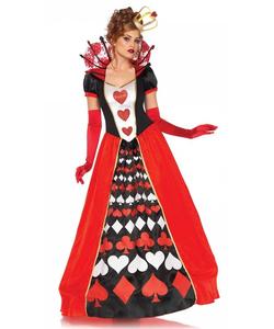deluxe queen of hearts costume