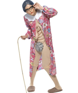 gravity granny costume
