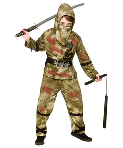 zombie ninja costume