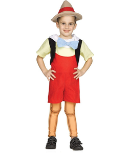 kids wooden boy costume