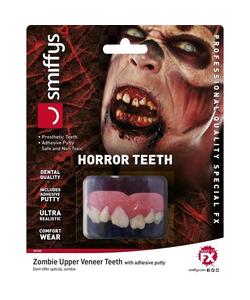 Prosthetic Zombie Teeth