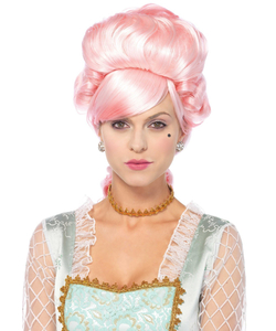 Pastel Powdered Pink Wig