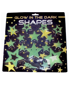 glow in the dark shapes
