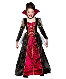 kids princess vampira costume