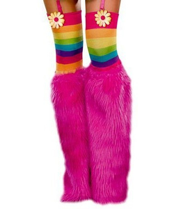 pink boot covers