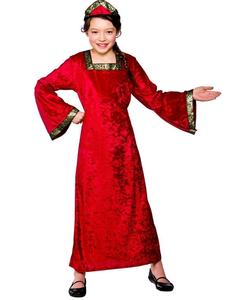 Tudor Princess costume