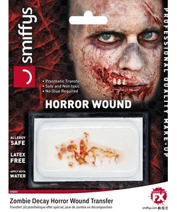 zombie decay horror wound